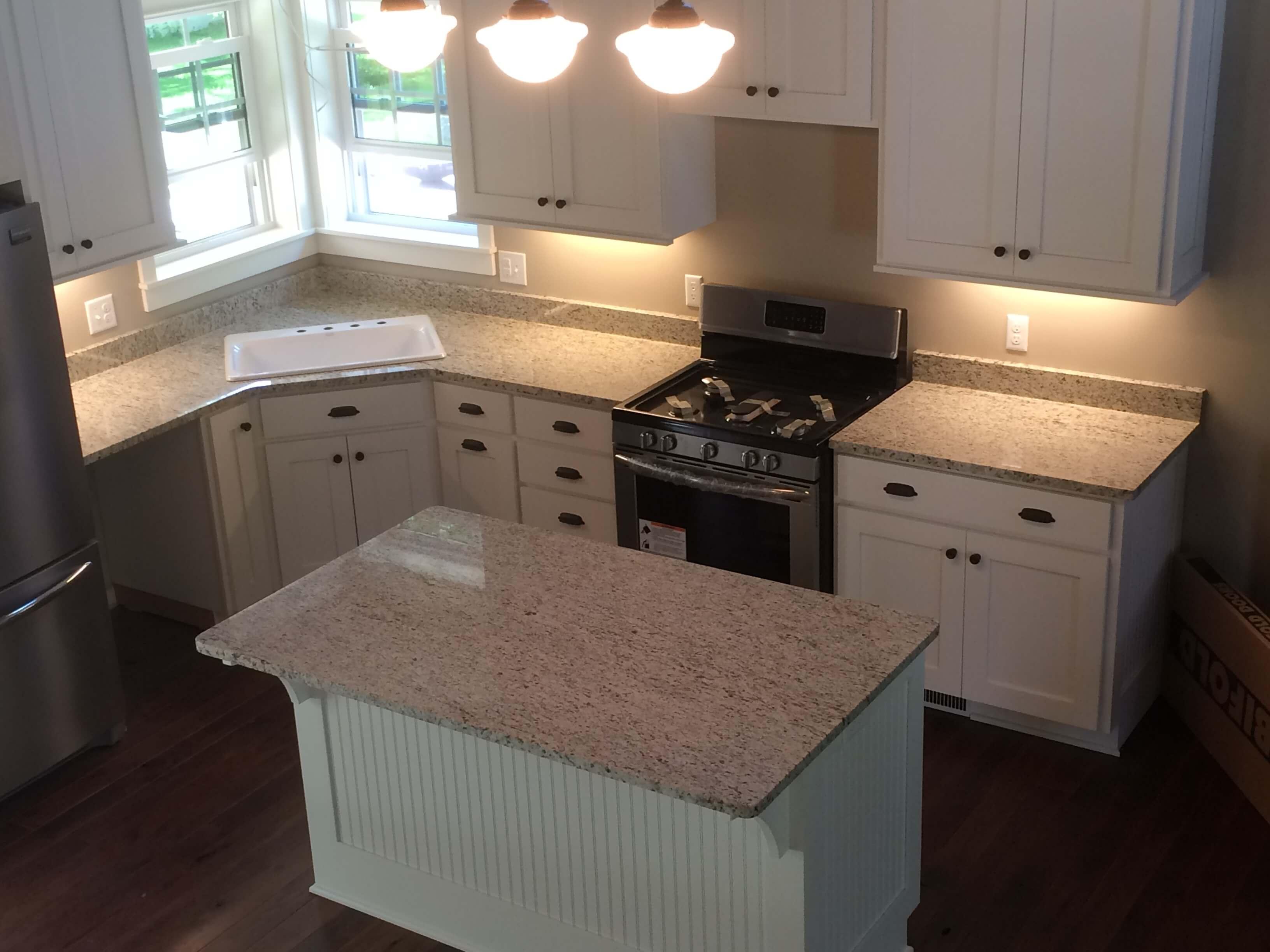 5) Giallo Ornamental Granite Countertops U0026 Vanities
